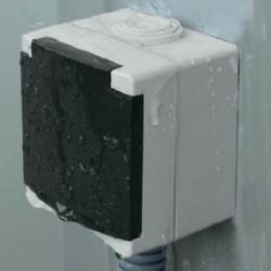 Prise électrique extérieur étanche certifié NF à 3,75€