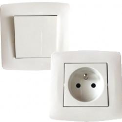Appareillage électrique, prise et interrupteur  certifié NF à 2,30€