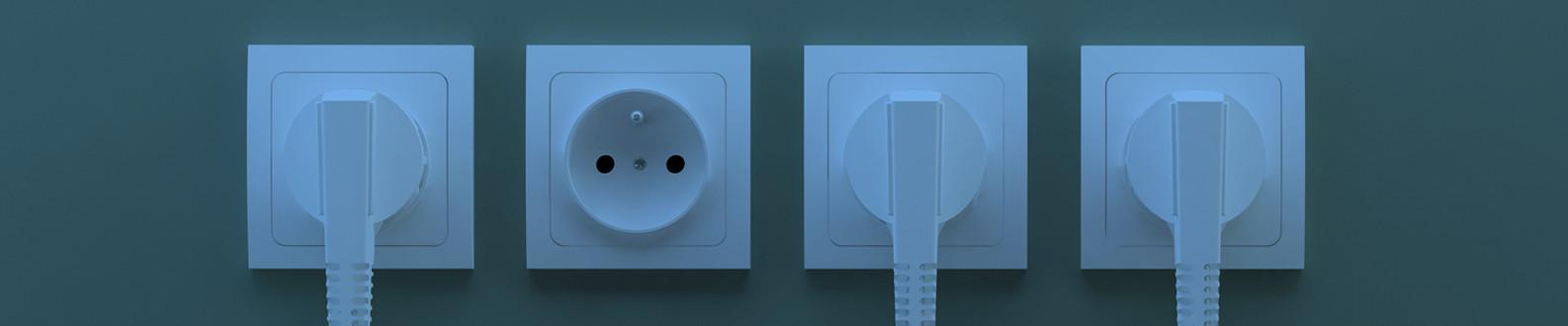 Interrupteur et prise murale à partir de 1,79€ HT certifié NF
