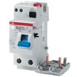 Différentiel électrique: Interrupteur et disjoncteur différentiel