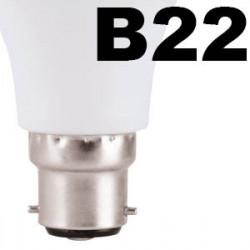 Ampoule led baïonnette culot B22 à 2€