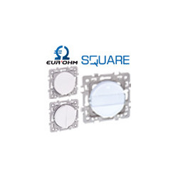 La gamme d'appareillage électrique Square Eurohm à prix réduit