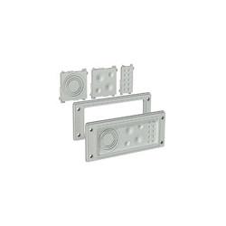 Passe câble FL21 pour armoire électrique composable et adataptable