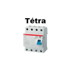 Interrupteur différentiel tétrapolaire 4P