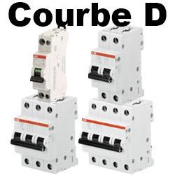 Disjoncteur courbe D pour moteur et industriel - PRIX SPÉCIAL PROS