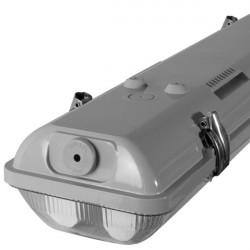 Réglette étanche LED et néon pour extérieur et milieu humide IP65-66