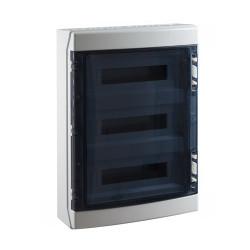 Coffret électrique étanche à partir de 7€ de 1 à 5 rangées 72 modules
