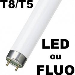 Tube fluorescent: tube fluo T8 et T5 à 1,35€ HT