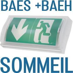 BAEH éclairage de sécurité pour habitation et locaux à sommeil - BAEH