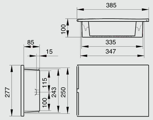 Tableau lectrique encastrable sur cloison placo 19 ht - Tableau electrique a encastrer ...