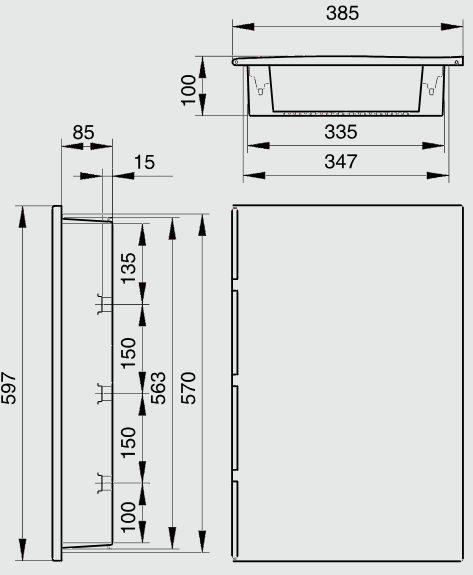 Dimension Tableau Electrique : tableau lectrique encastrable sur cloison placo 19 ht ~ Melissatoandfro.com Idées de Décoration