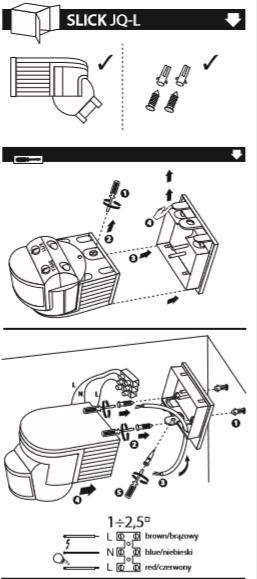 decomposition du detecteur de mouvement