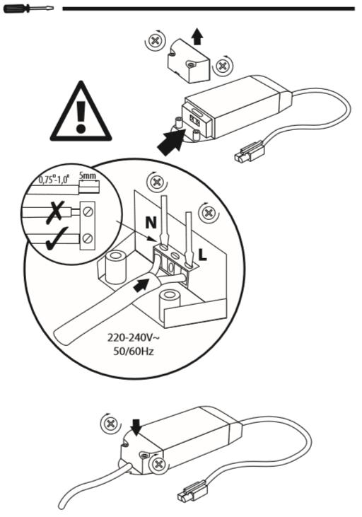 mode d'emploi installation dalle led 60x60 lumineuse partie 3