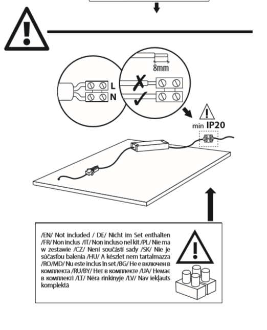 mode d'emploi installation dalle led 60x60 lumineuse partie 5